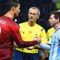 Cristiano Ronaldo, Lionel Messi (foto: Guliver/Getty Images)