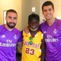 Cedrick Mabwati Gerard între Carvajal și Morata de la Real Madrid
