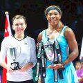 Simona Halep și Serena Williams FOTO: Guliver/GettyImages