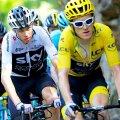 Chris Froome și Geraint Thomas vor avea o zi importantă în lupta pentru tricoul galben, foto: reuters