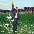Celebrul gest de pe Giulești, când Dinamo s-a impus cu 4-1, iar Dinu îi arunca prosopul lui George Copos