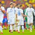 După doi ani la Botoșani, Nicolae Mușat (numărul 30) va evolua în liga secundă, la FC Daco-Getica // FOTO: Gazeta Sporturilor