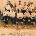 Imagine de epocă cu echipa Preston North End din sezonul 1888/1889 // Foto: Wikipedia