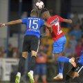 Bogdan Țîru (numărul 15) a fost printre cei mai slabi jucători ai Viitorului cu FCSB, 1-4 FOTO: Raed Krishan