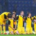 Dinamoviștii la loviturile de departajare