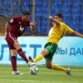 Armas (dreapta) într-un duel pe când evolua la Kuban împotriva lui Rubin Kazan
