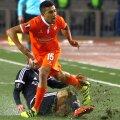 Maximiliano Olivera, în portocaliu // FOTO: Hepta