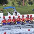 Barca de 8 plus 1 a României, campioana mondială de anul trecut // FOTO World Rowing