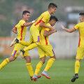 Bucuria lui Florinel Coman după golul din Bosnia