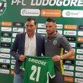 Dragoș Grigore, pe 5 iunie, la prezentarea oficială la Ludogoreț