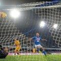 Dries Mertens a egalat în minutul 90 foto: Reuters