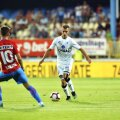 Olaru a debutat în Liga 1 la 18 ani, în august 2016, în meciul Astra - Gaz Metan 0-2 FOTO: Cristi Preda