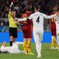 Llorente, prăbușit după un duel cu Nicolo Zaniolo FOTO: Reuters