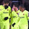 Messi, Pique, Malcom (foto: Reuters)