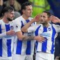Florin Andone, după golul senzațional marcat pentru Brighton cu Crystal Palace, 3-1, foto: reuters
