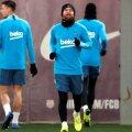 Leo Messi s-a antrenat normal marți seara // FOTO: Reuters
