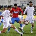 Raul Rusescu nu a putut face nimic pentru ca FCSB să evite înfrângerea din tur cu Concordia, 0-1