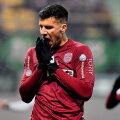 Țucudean, cu 17 goluri, a urcat-o pe CFR pe primul loc și e cel mai bun marcator din Liga 1