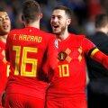 Eden Hazard, alături de fratele său // FOTO: Reuters