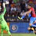 Sezonul 2012-2013 a fost cel mai bun din cariera lui Rusescu, cu 21 de goluri doar în Liga 1 pentru FCSB