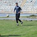Suporterul Virgil a fost invitat la antrenamentul Farului Constanța // Foto: Facebook Farul