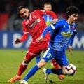 Diego Fabbrini ar putea juca în locul lui Reda Jaadi, în banda stângă, fiindcă belgianul n-a dat randamentul scontat până acum // FOTO: Raed Krishan