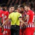 Diego Costa a fost eliminat în prima repriză