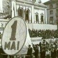 Paradele de 1 mai erau la modă în perioada comunistă
