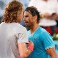 Stefanos Tsitsipas - Rafael Nadal // FOTO: Reuters