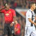 Pogba și Ronaldo, în duelul United - Juventus din grupele Ligii Campionilor FOTO: Guliver/GettyImages