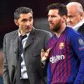 Ernesto Valverde beneficiază de susținerea lui Leo Messi // FOTO: Guliver/Getty Images