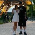 Denis Alibec și iubita sa, în vacanță la Paris