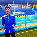 Gabriel Plumbuit, fotbalist Daco Getica // FOTO: Vlad Nedelea