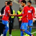 Florentin Matei, în dreapta, va părăsi echipa roș-albastră