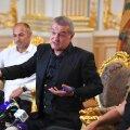 Becali, MM și Bogdan Andone, la conferința de azi // FOTO: Raed Krishan