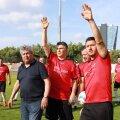 Ionuț Lupescu, alături de Mircea Lucescu și Ciprian Marica // FOTO: Eli Driu // Libertatea
