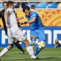 FOTO: GettyImages // Decarul Buleța (în albastru) a înscris golul calificării Ucrainei în finala CM