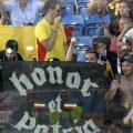 Fanii României prezenți în San Marino pentru meciul cu Croația // Foto: Raed Krishan (Forli)