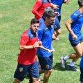 "Cosmin Contra s-a antrenat cot la cot cu ""tricolorii"" U21"