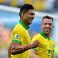Casemiro a marcat primul său gol în tricoul Braziliei în al 39-lea meci la națională