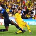 Ianis Hagi în partida cu Franța // FOTO: Raed Krishan