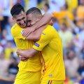 George Pușcaș, îmbrățișat de Andrei Ivan (stânga), foto: Raed Krishan/GSP