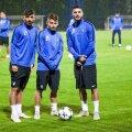 Robert Neciu, Alexandru Mățan și Radu Botoc - FC Viitorul