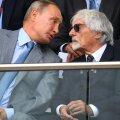 Vladimir Putin și Bernie Ecclestone // FOTO: Guliver/GettyImages