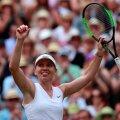 Simona Halep la Wimbledon // foto: Reuters