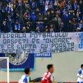 Mesaj al fanilor olteni, la un meci Craiova - Dinamo // foto: Gazeta Sporturilor