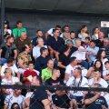 Mircea Lucescu, prezent la meciul Rapidului alături de alte nume importante // foto: GSP.ro