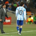 Diego Maradona, Leo Messi (foto: Guliver/Getty Images)