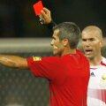 Zinedine Zidane, eliminat în prelungirile finalei. foto: Guliver/Getty Images