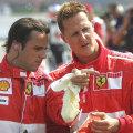 Felipe Massa și Michael Schumacher au fost colegi la Ferrari // FOTO: Guliver/GettyImages